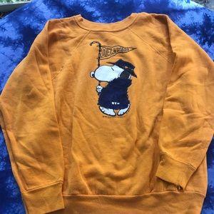 Vintage peanuts Charlie Brown sweater